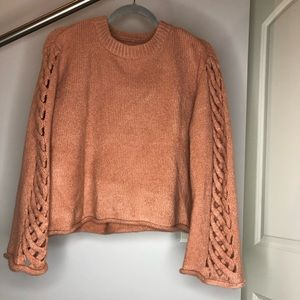 Cozy Peach Sweater from Simpson's